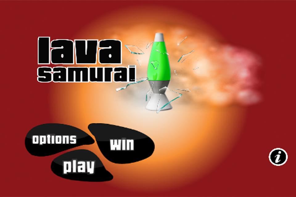Screenshot Lava Samurai